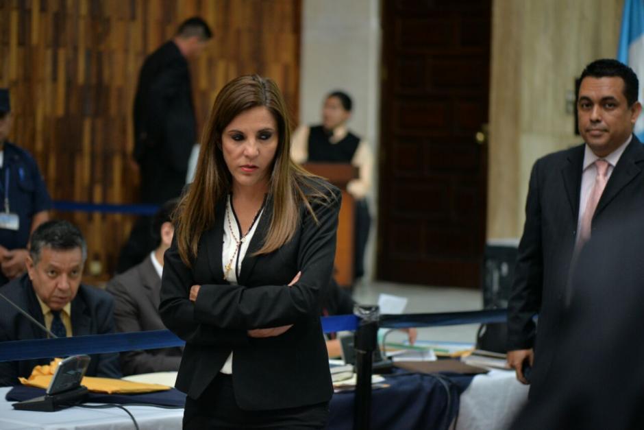 Ana Graciela López, de Blue Oil, pidió no seguir en prisión preventiva. (Foto: Wilder López /Soy502)