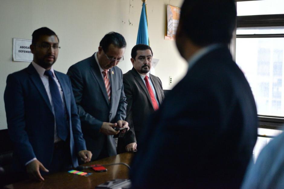 El inicio del juicio fue suspendido porque los abogados del exdiputado no se presentaron. (Foto: Wilder López/Soy502)