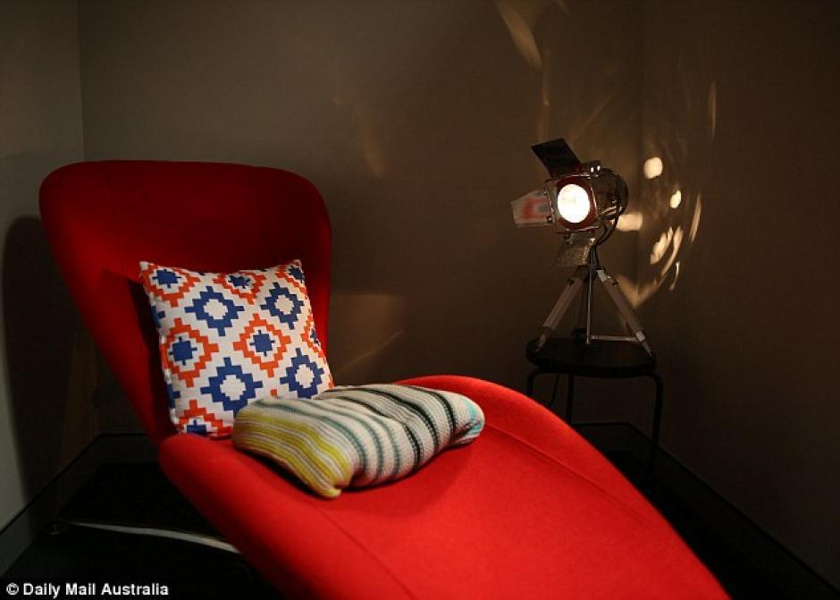 Ambientes confortables y privados son parte de Hangover Clinic. (Foto: Daily Mail)