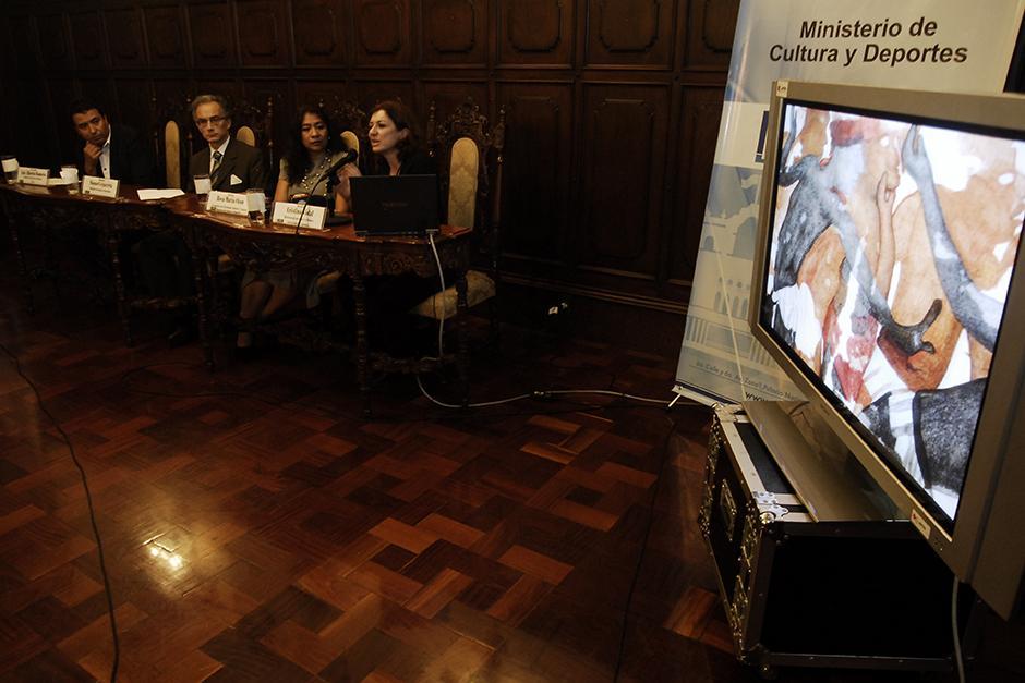 Las autoridades presentaron el informe del sitio arqueológico de Chilonché. (Foto: Jesús Alfonso/Soy502)