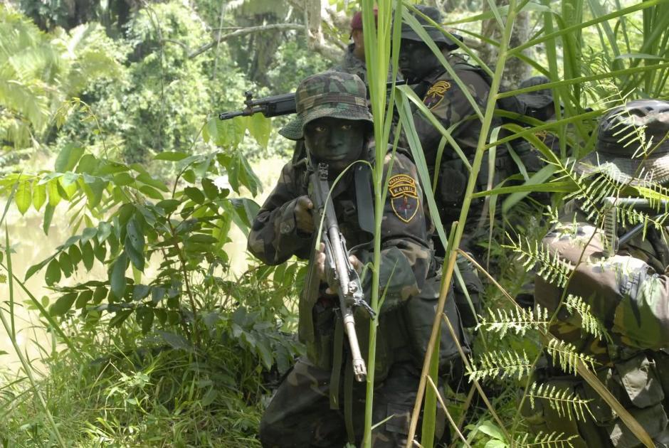 Kaibiles son locales en Competencia de Fuerzas Comando 2015