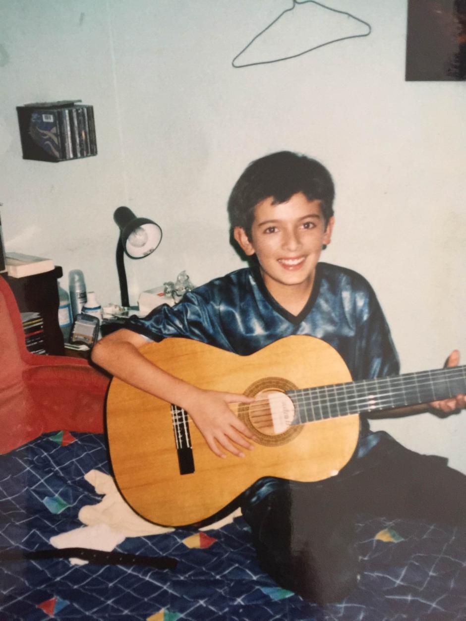 Desde pequeño empezó a construir su carrera. (Foto: Rodrigo Valdez)