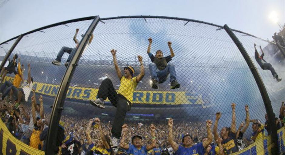 Los aficionados de Boca Juniors alentarán a su equipo. (AFP)