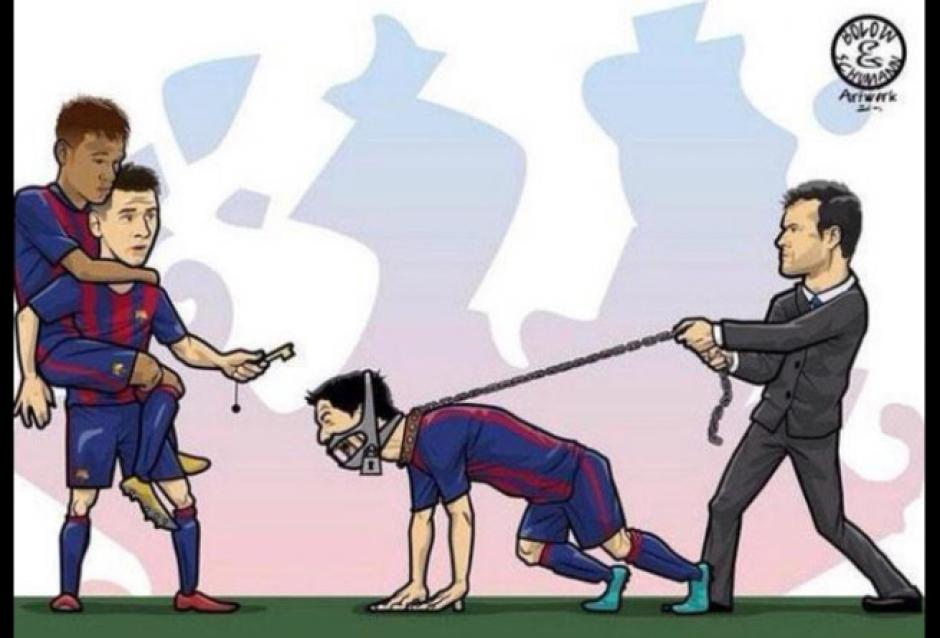 Los memes por el encuentro entre el Real Madrid y Barcelona se viralizan. (Foto: www.latina.pe)