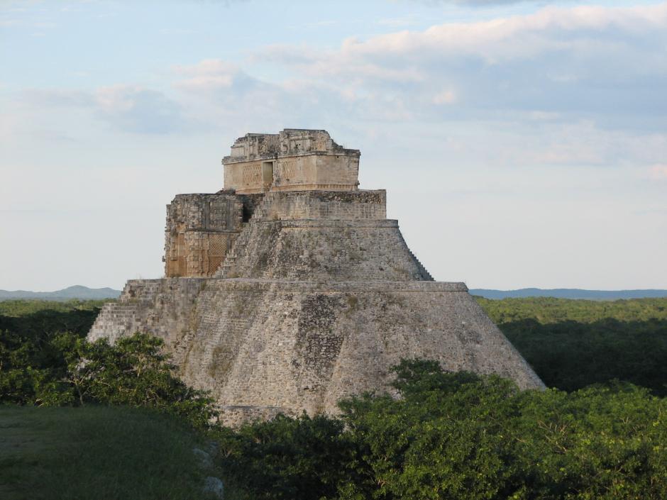 La zona arqueológica de Uxmal en Yucatán, México. (Foto: Flickr/vokeron7)