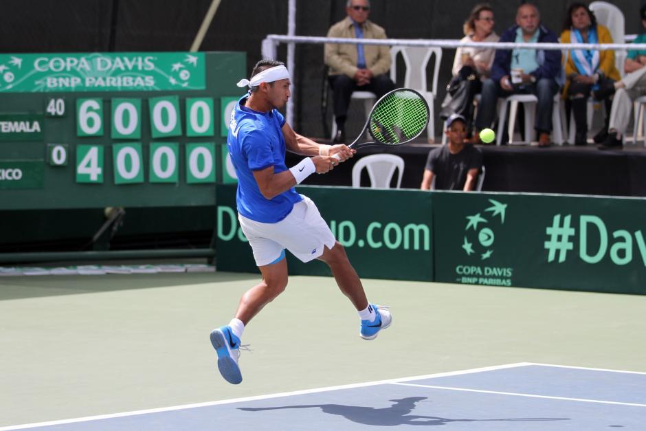 Díaz ganó el juego decisivo de la serie entre Guatemala y México. (Foto: COG)