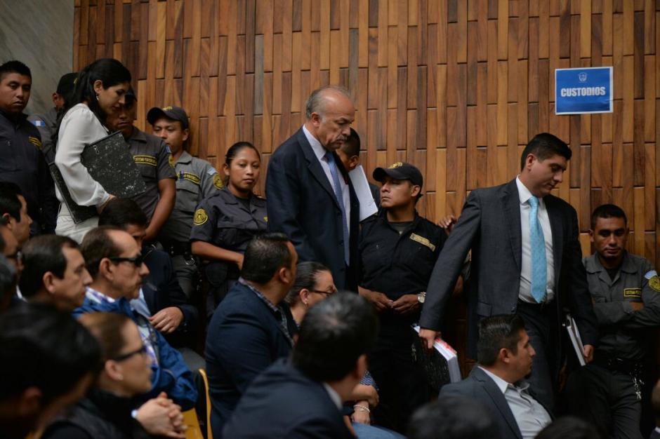Los sindicados no estuvieron de acuerdo con el traslado hacia la cárcel de Matamoros. (Foto: Wilder López/Soy502)
