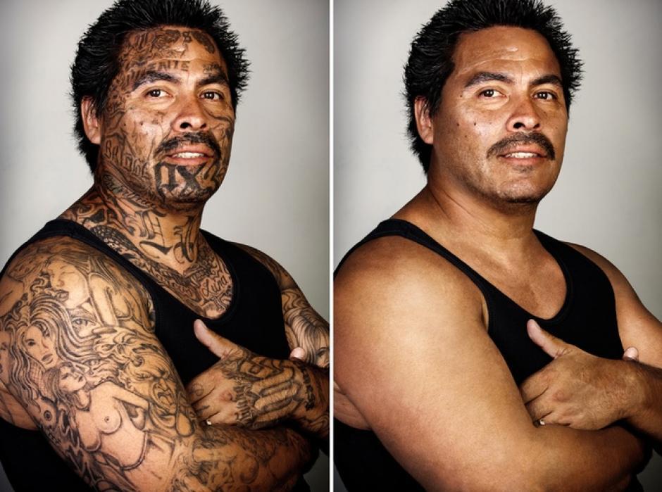 """Marcos Luna dijo: """"La persona que ves en esta foto es un ser humano, igual que tú.""""(Foto: Steven Burton)"""