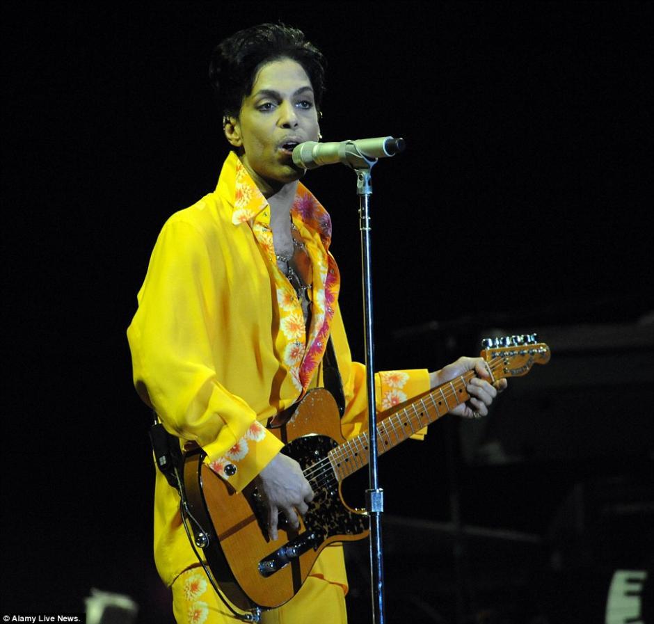 Prince falleció el pasado 21 de abril a los 57 años. (Foto: dailymail.co.uk)