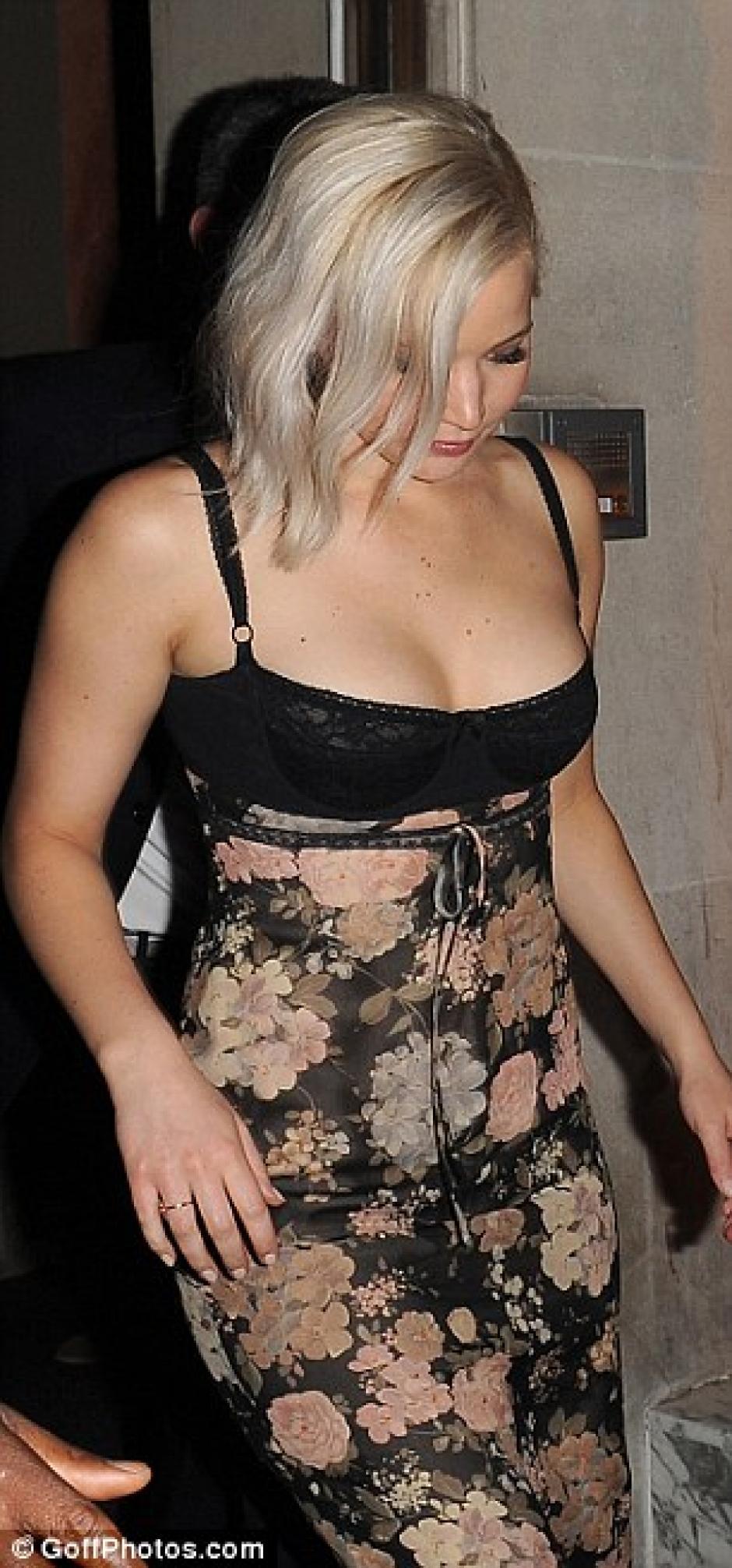 La actriz seguía fabulosa a pesar del desvelo. (foto: Will Alexander/WENN.com)
