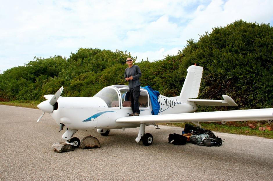 Ricardo González Jurado es el dueño de la avioneta accidentada en la zona 9 de la capital guatemalteca. (Foto: Facebook)
