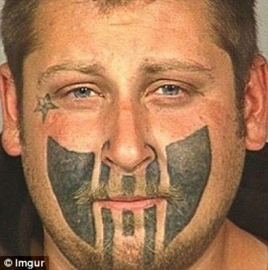 Los tatuajes en el rostro son los menos recomendados por los artistas. (Foto: Daily Mail)