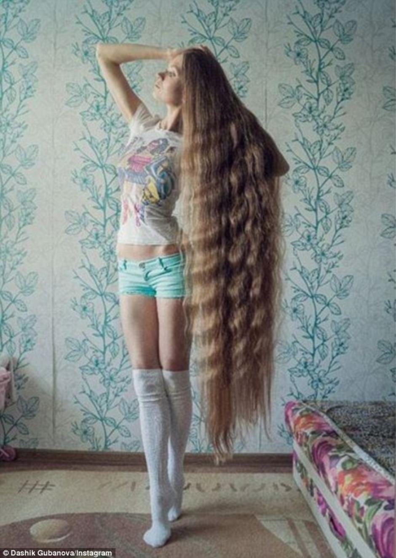 La rusa Dashik Freckle es la rapunzel de carne y hueso. (Foto: Instagram/dashik_gubanova)
