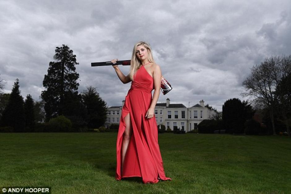 Amber Hill, es una de las bellezas que estará en los Juegos Olímpicos. (Foto: Instagram