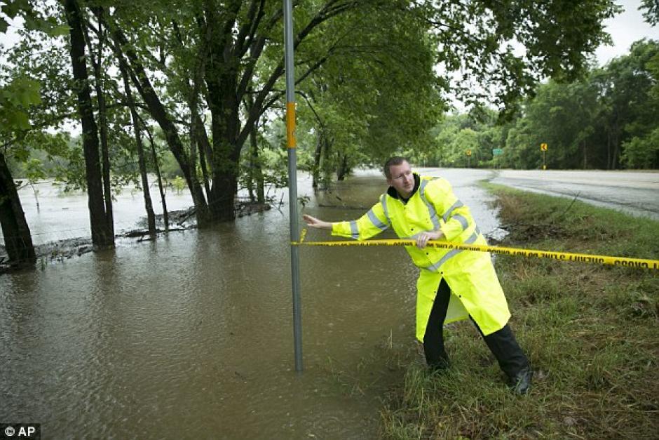 Mitchell se dirigía de regreso a su casa. Foto: Daily Mail)