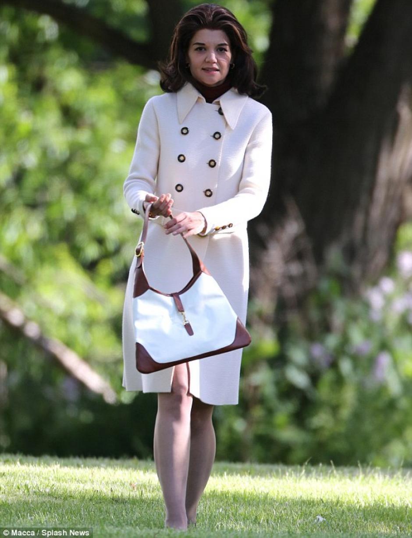"""""""Los Kennedy: Después de Camelot"""" es la miniserie en la que participa la actriz. (Foto: Daily Mail)"""