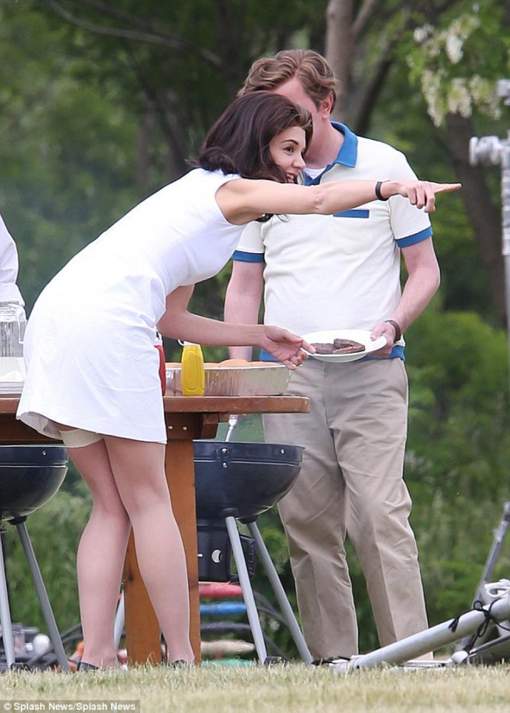 El accidente se registró durante la filmación de la miniserie. (Foto: Daily Mail)