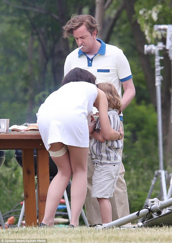 El vestuario le jugó una mala pasada a la actriz. (Foto: Daily Mail)