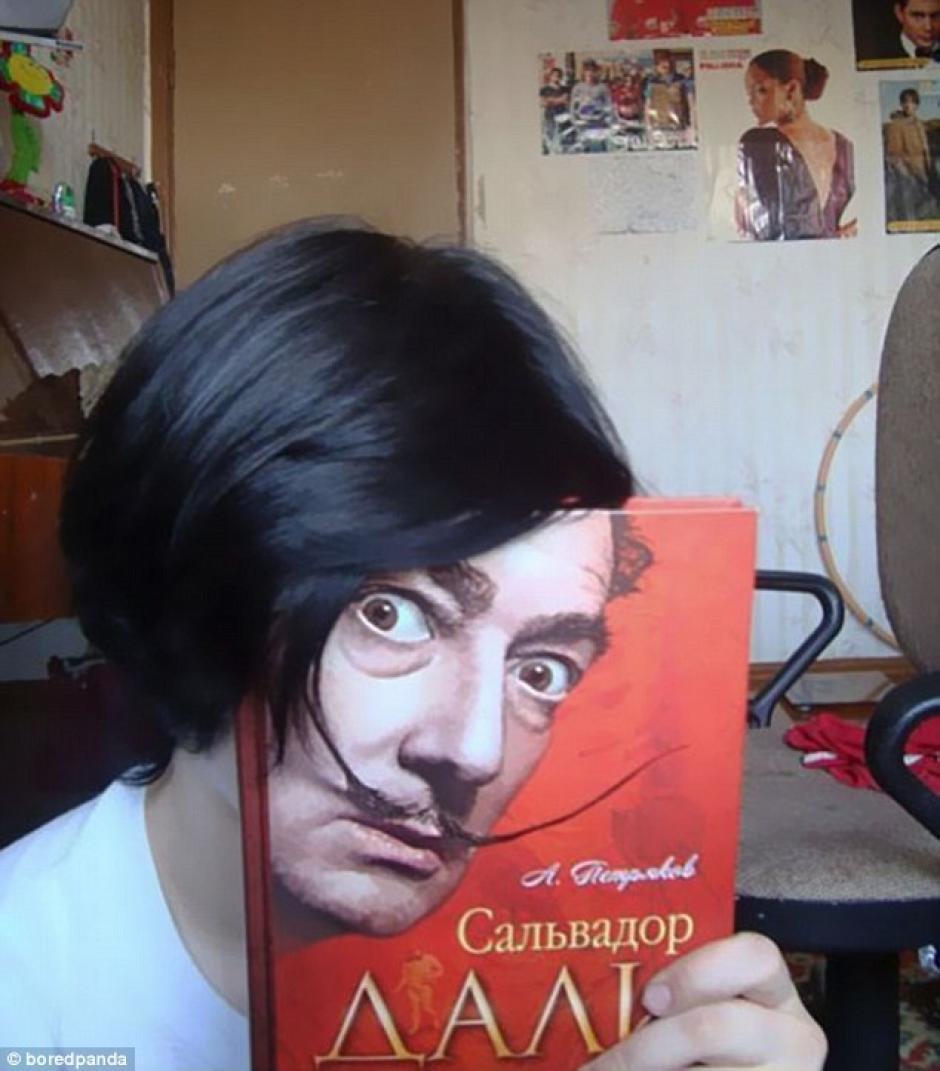 El artista surrealista, Salvador Dali. (Foto: dailymail.co.uk)