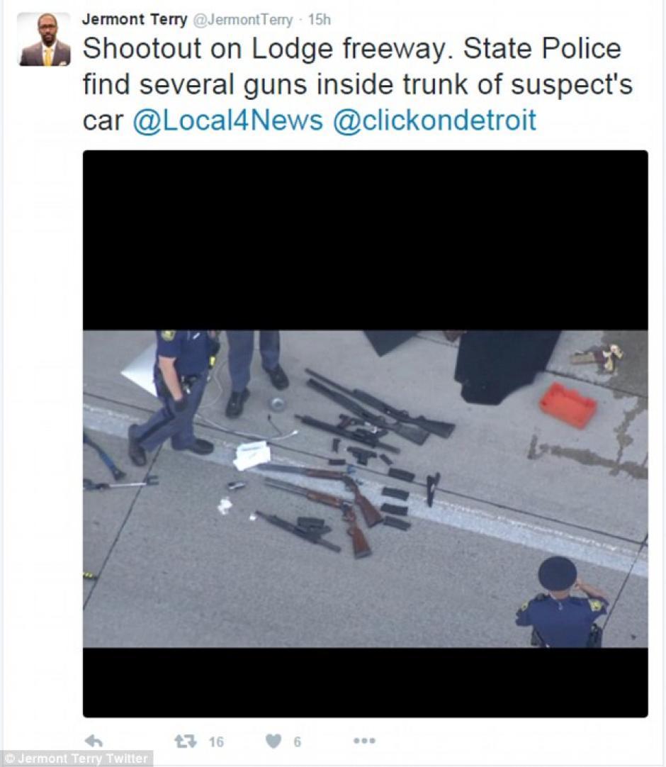 La policía informó sobre los hallazgos realizados en el vehículo.  (Foto: dailymail.co.uk)