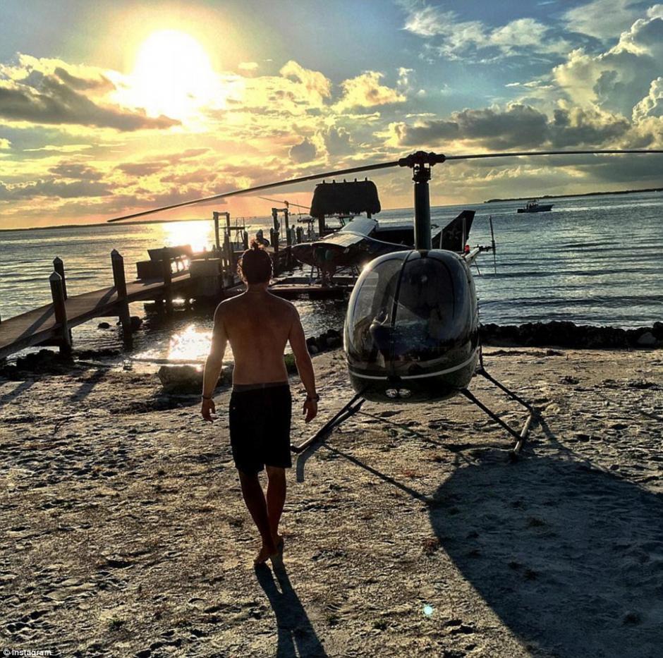Un helicóptero para ir a la playa cuando quiera. (Foto: dailymail.co.uk)