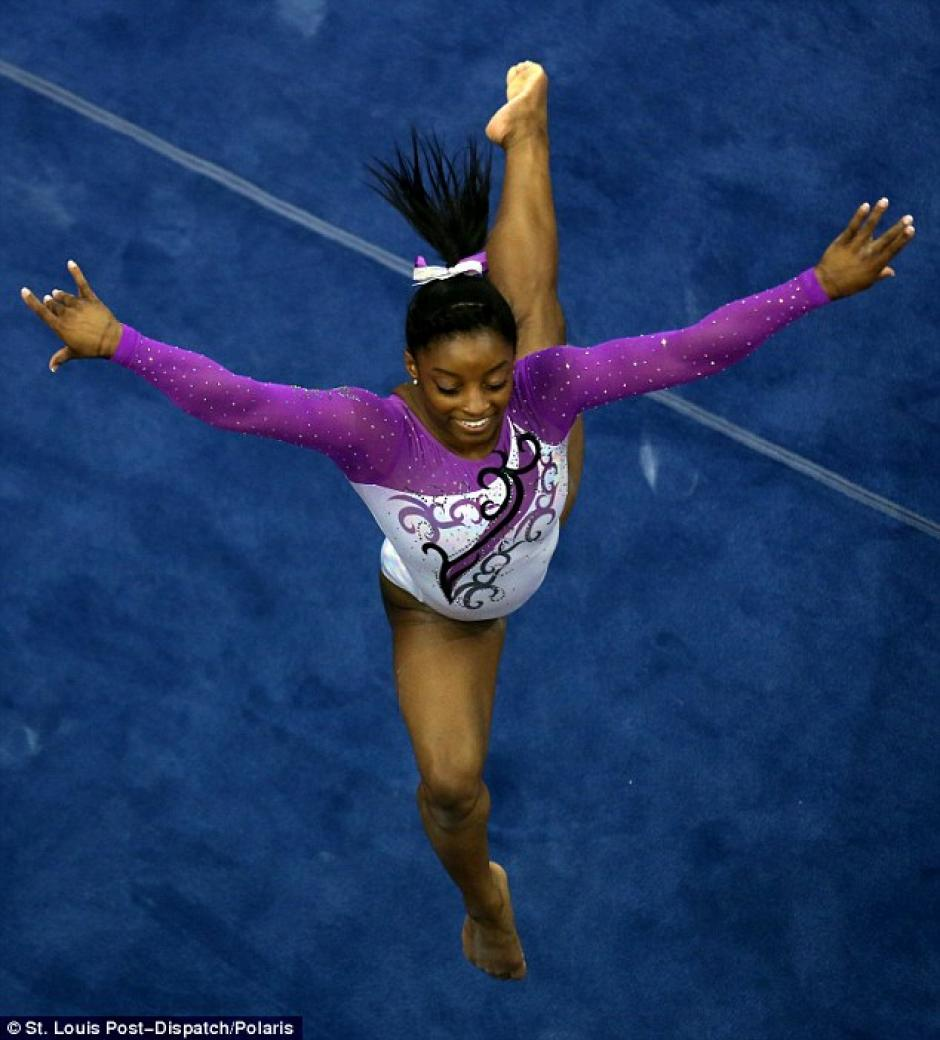 Ella ha ganado cuatro Oros a lo largo de su carrera como deportista. (Foto: St. Louis Post)