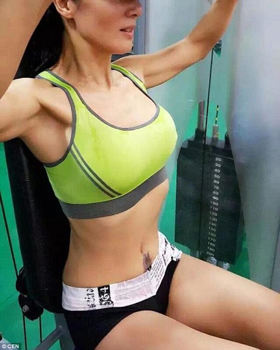 Su regimen de ejercicios la ha ayudado a mantener una buena figura. (Foto: dailymail.co.uk)