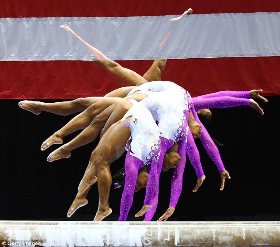 Simone Biles es proveniente de Ohio, Estados Unidos. (Foto: Getty Images)