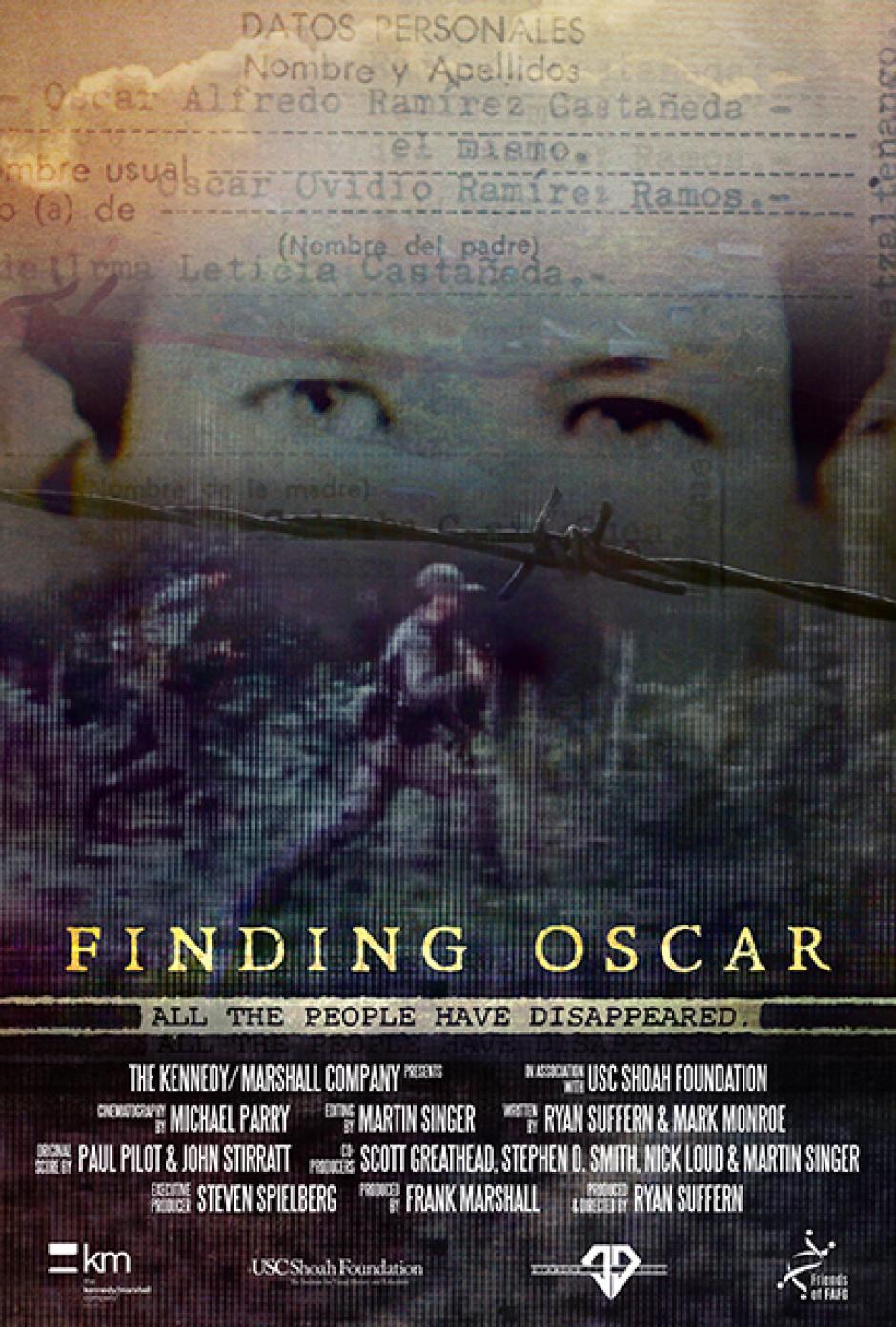 Se trata de la cinta llamada Buscando a Oscar. (afiche: Festival de Telluride)