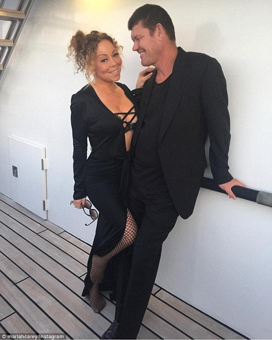 Ambos se muestran muy acaramelados en las fotografías que comparte en las redes sociales. (Foto: Instagram Mariah Carey)