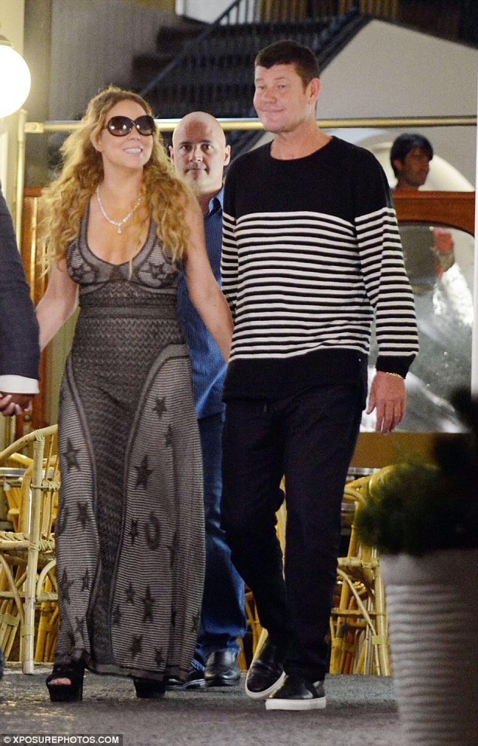 La pareja se encuentra de vacaciones en la isla de Capri, Italia. (Foto: Exposure Photos)