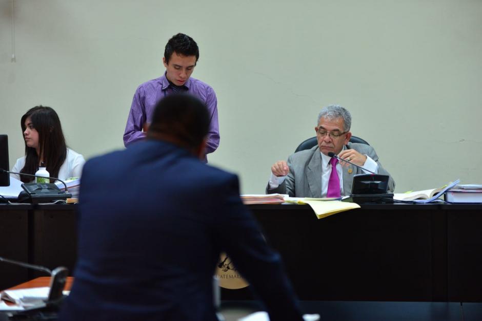 El juez Miguel Ángel Gálvez resolverá las peticiones de medidas sustitutivas. (Foto: Jesús Alfonso/Soy502)