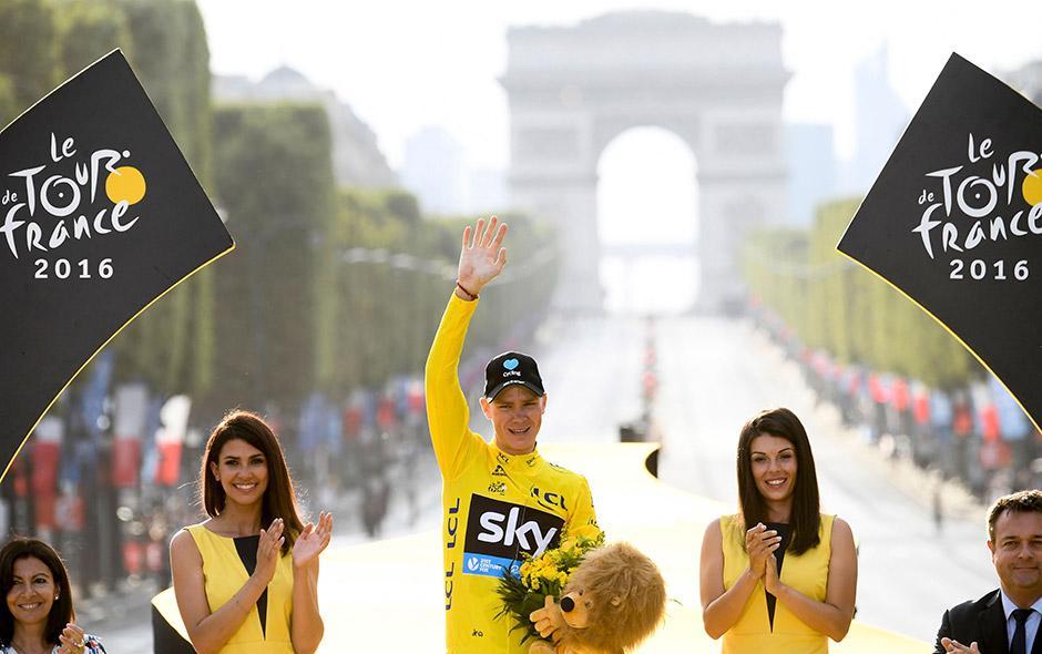 Chris Froome ha ganado tres veces el Tour de Francia, uno de los eventos más importantes del ciclismo mundial. (Foto: Aldo Martínez/Enviado de Nuestro Diario)
