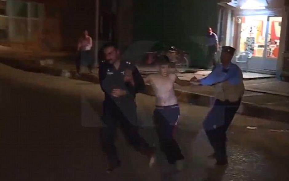 El niño fue llevado a una comisaría. (Foto: dailymail.co.uk)