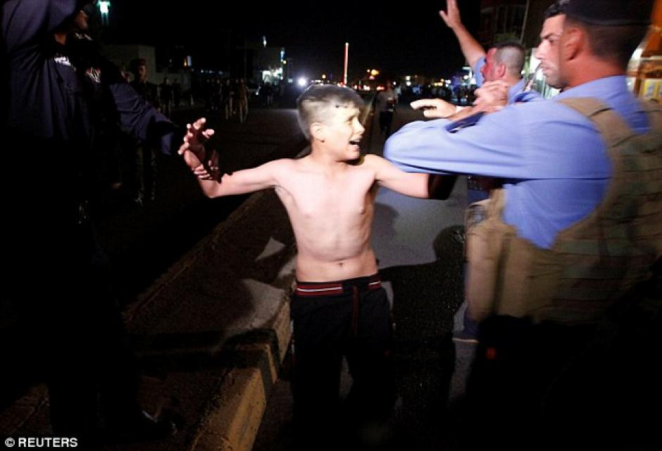 El niño discutió con las autoridades. (Foto: dailymail.co.uk)
