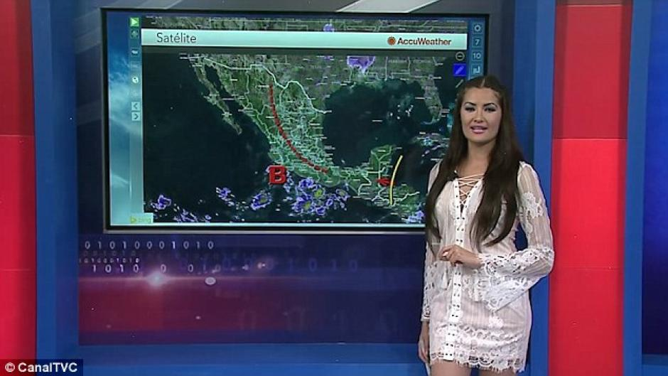 Lourdes Figueroa trabajó como presentadora de deportes en un programa de Guatemala antes de partir a México. (Foto: Daily Mail)