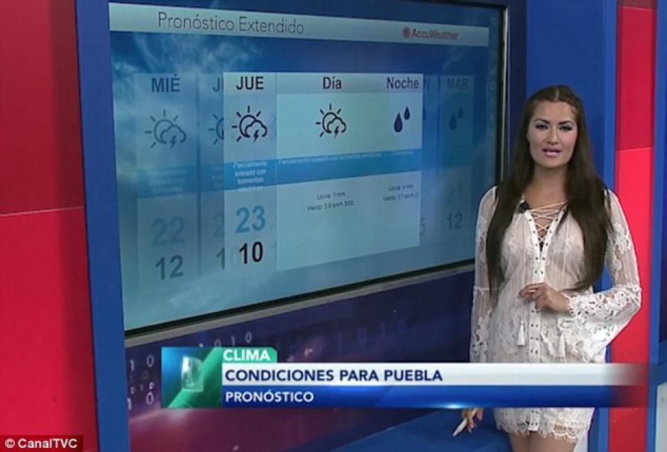 Los televidentes llenaron el Internet de comentarios de admiración hacia la bella guatemalteca. (Foto: Daily Mai)
