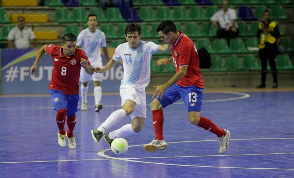 Costa Rica derrota a Guatemala foto futsal premundial