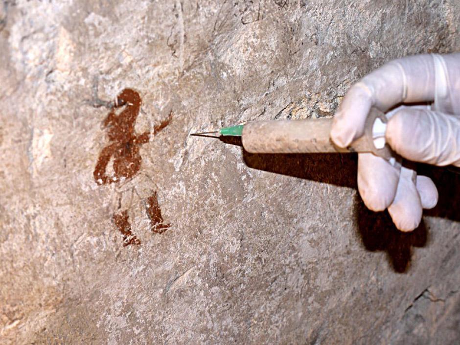 Las pinturas fueron sometidas a diversas pruebas para verificar el periodo al que pertenecen, así como para su restauración. (Foto: Ministerio de Cultura y Deportes)