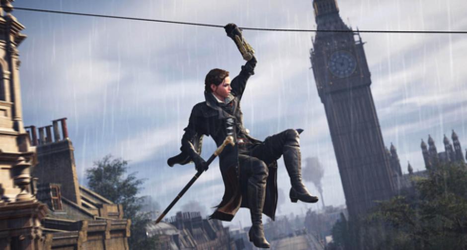 En Assassin´s Creed, el parkour ha sido la manera en la que se desplazan los asesinos. En Syndicate se introduce un gancho para lanzar cuerdas y escalar.(Foto: cnet.com)