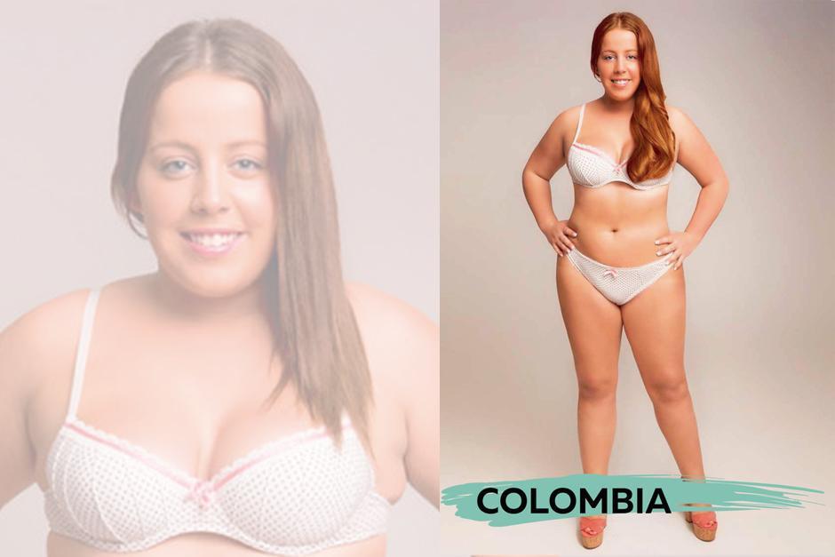 Para Colombia, resalta el cambio en el cabello.