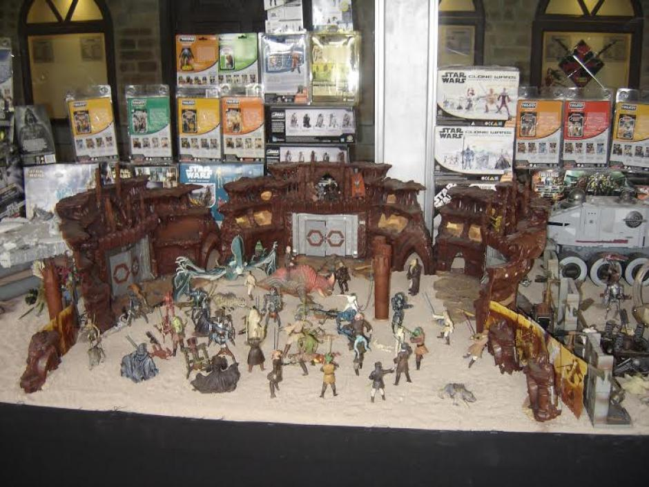 El primer museo de Star Wars estuvo en la 15 calle 2-53 zona 10. (Foto: Jorge Anleu)