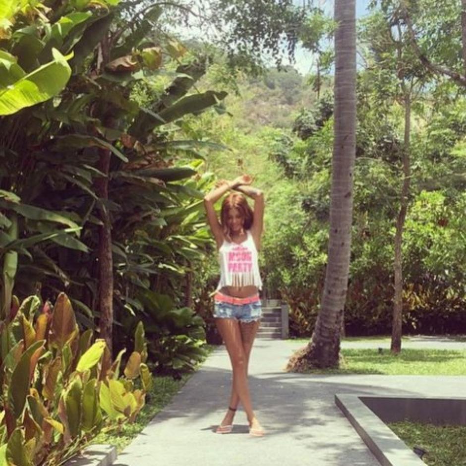 La modelo Melikaa Zamani es muy activa en las redes sociales. (Foto: Infobae)