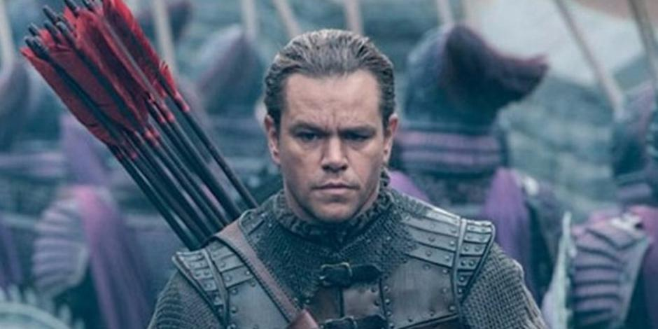 The Great Wall, será la nueva película de Matt Damon. (Foto: Twitter)