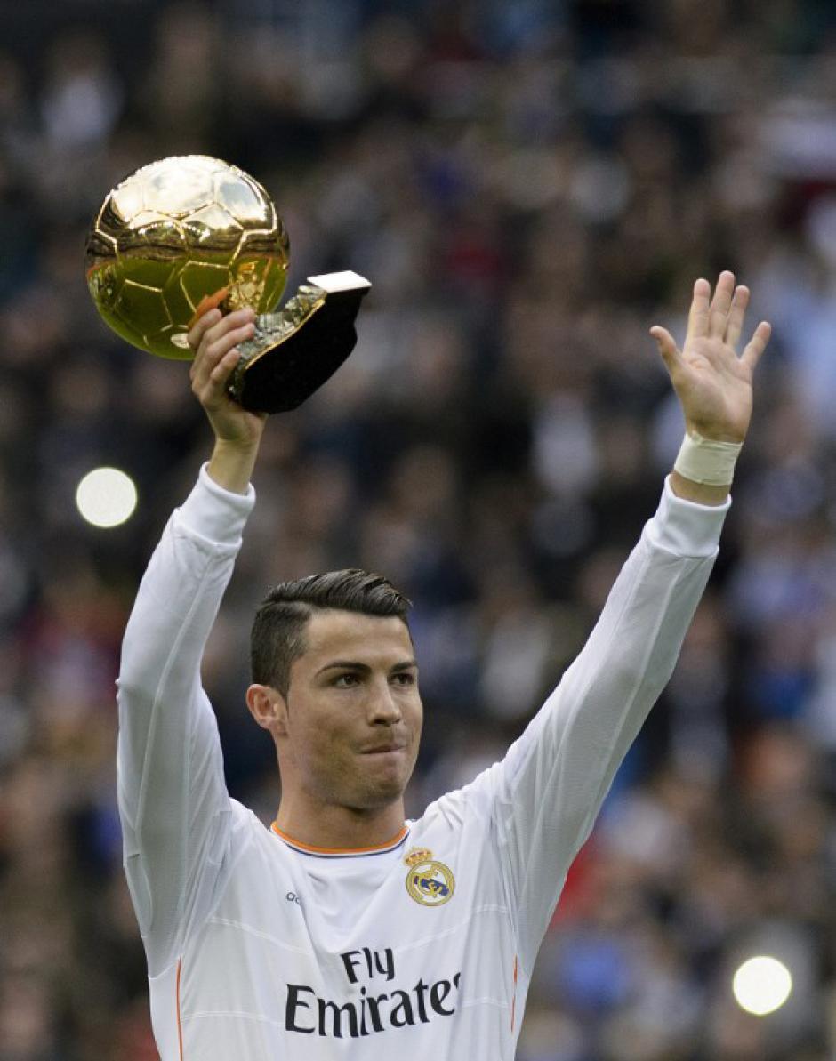 El delantero luso fue ovacionado cuando salió a la gramilla del Bernabéu. (Foto: Dani PozoAFP)
