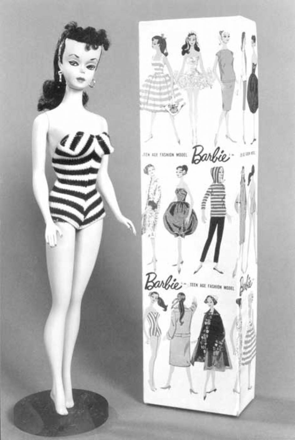 Con la introducción de Barbie en 1959, Ruth Handler, cofundadora de Mattel, le dio vida a su visión de una muñeca tridimensional. (Foto: Mattel)