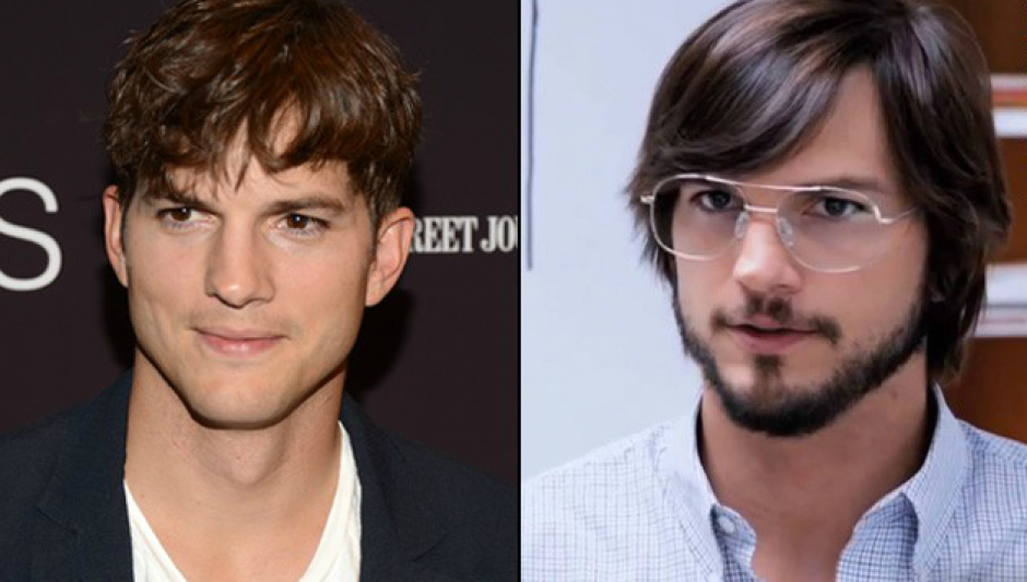 "Ashton Kutcher tuvo la suerte de parecerse a Steve Jobs para la película ""Jobs"". (Foto: CNN)"