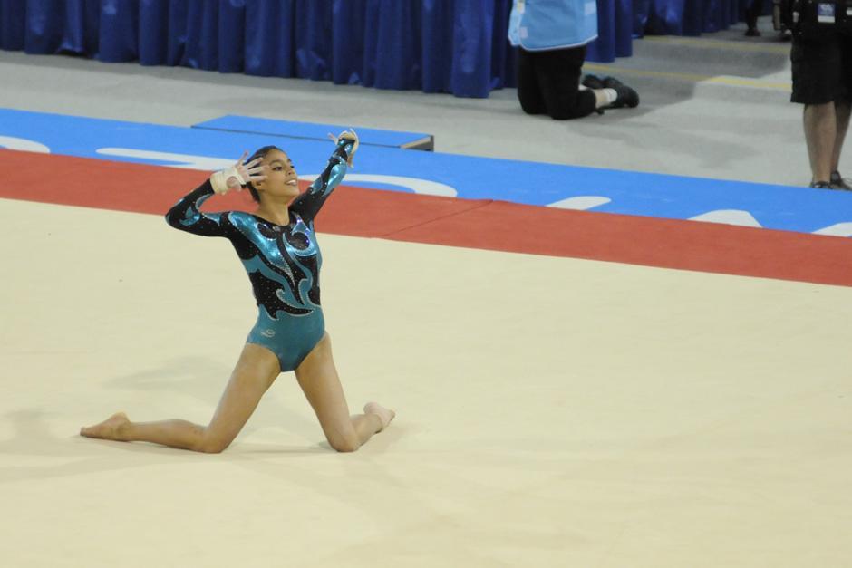 Ana Sofía recibió un puntaje de 14.150 tras su presentación en piso
