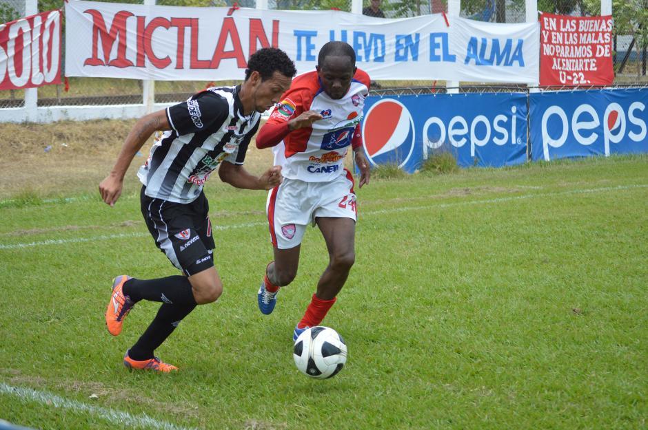 Mictlán derrotó a Heredia por la mínima diferencia con un gol del jalapaneco Gerson Lima. (Foto: AFP)