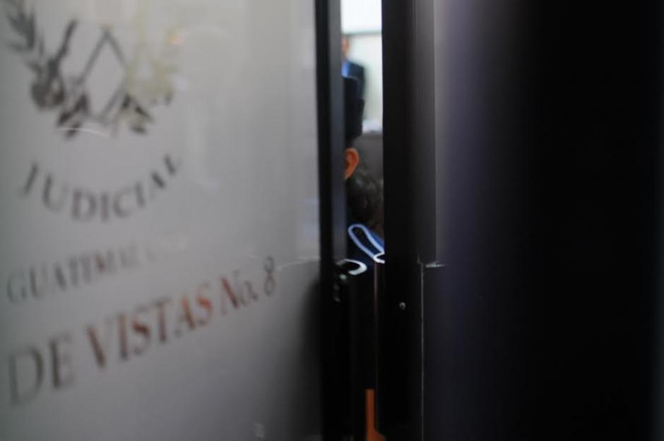 El juicio por genocidio contra Efraín Ríos Montt y José Rodríguez Sánchez se desarrolla a puerta cerrada. (Foto: Alejandro Balán/ Soy502)